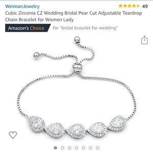Beautiful teardrop bracelet